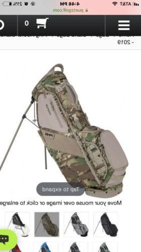 2019 hoofer carry stand golf bag camo