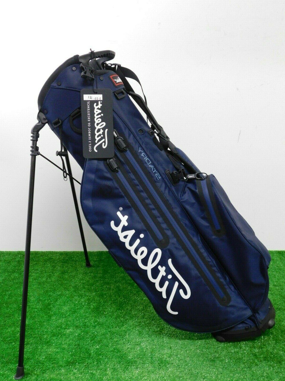Leist 2019 Players 4 Stadry Stand Bag Navy