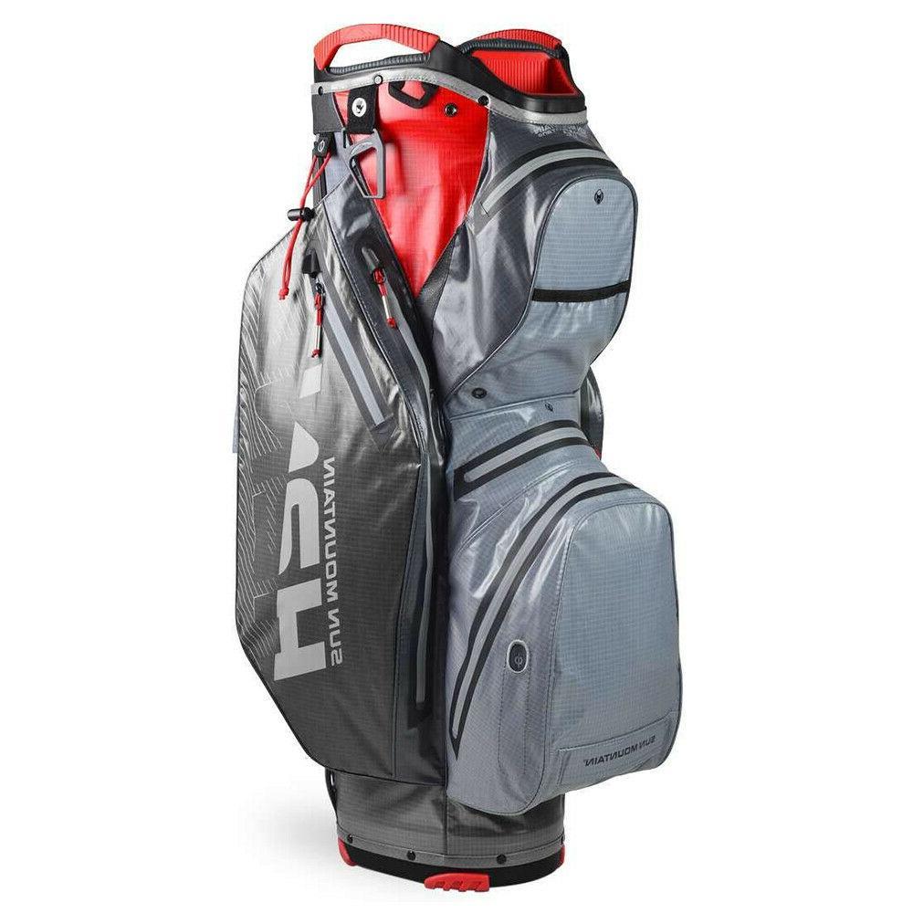Sun Mountain 2020 H2NO Staff Golf Cart Bag - Nickel-Gunmetal