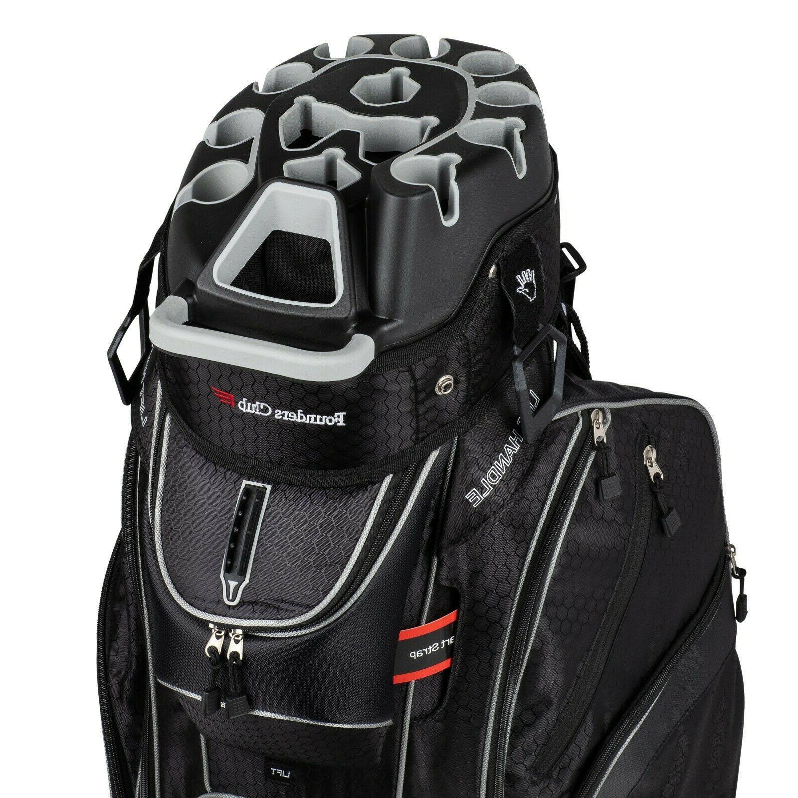 Founders Club Way Organizer Top Cart Bag