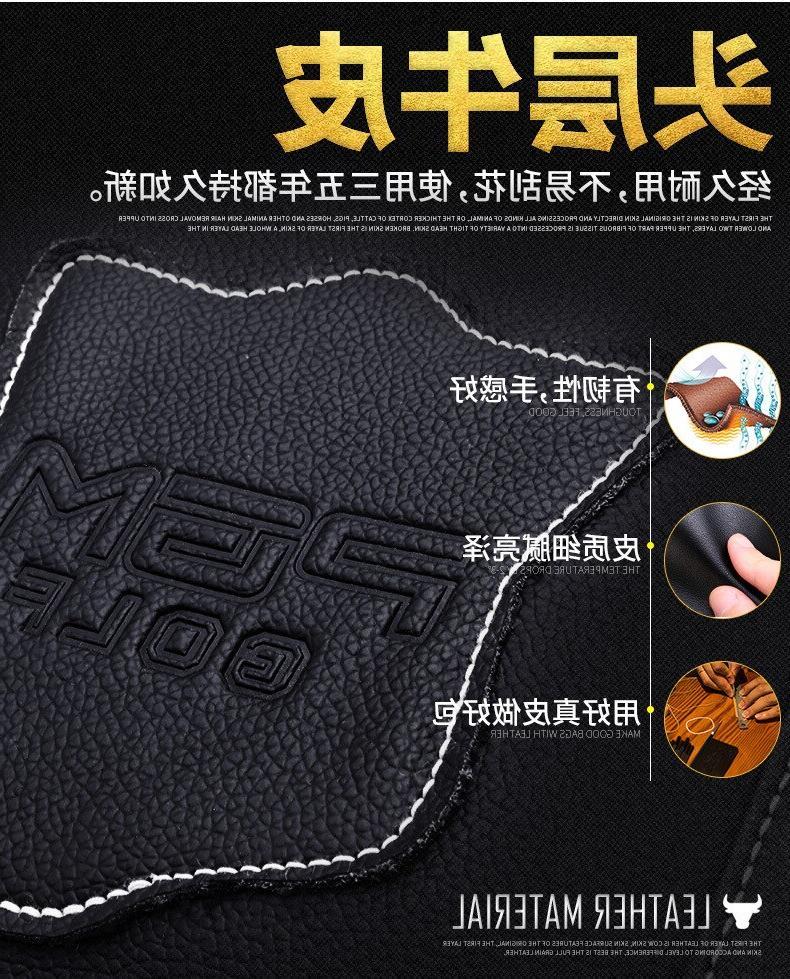 48x30CM PGM Real Leather <font><b>Golf</b></font> Clothing <font><b>Bag</b></font> Women Handbag Built-in <font><b>Bag</b></font>