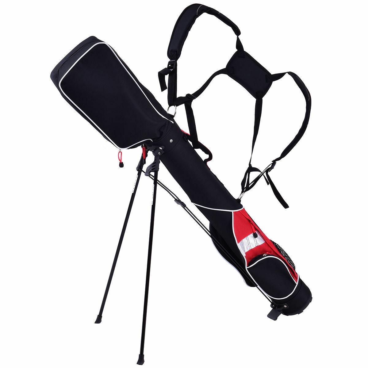 5'' Stand 7 Clubs Carry Pockets Travel Storage Walk