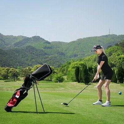 "5"" Golf Stand Pockets New"