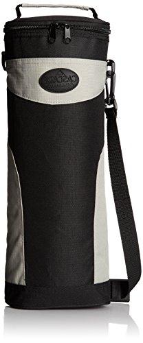 6-To-Go Zippered Beverage Cooler with Shoulder Strap, and Cl