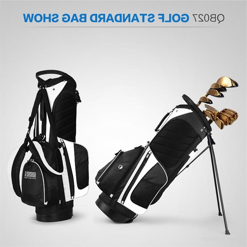 PGM 90*28CM Portable <font><b>Golf</b></font> <font><b>Stand</b></font> with 14 Sockets Multi Outdoor Pockets Standard with Strap