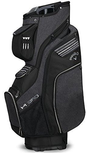 Callaway Golf 14 Cart Bag, Silver/