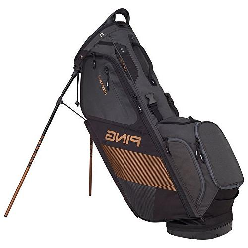 PING 2018 Hoofer Carry Stand Black/Graphite/Canyon