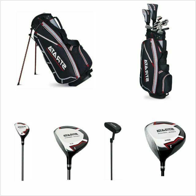 Strata Golf- LH Strata Complete Set W/Bag Graph/Steel
