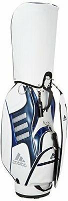 Adidas Golf Pure metal caddy bag 2 AWT81 A92339 White / Navy