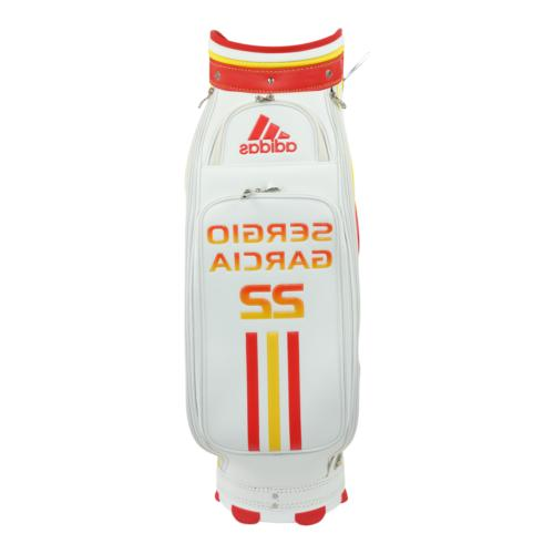 adidas Golf 22 Staff White/Red/Gold