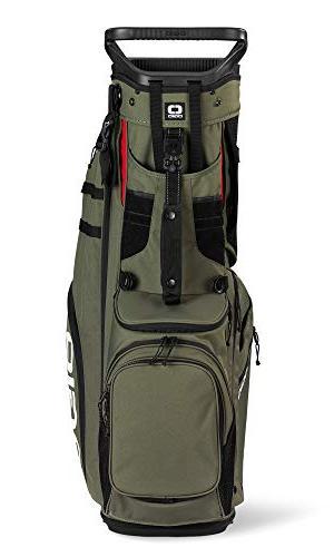 Golf Stand Bag, Olive