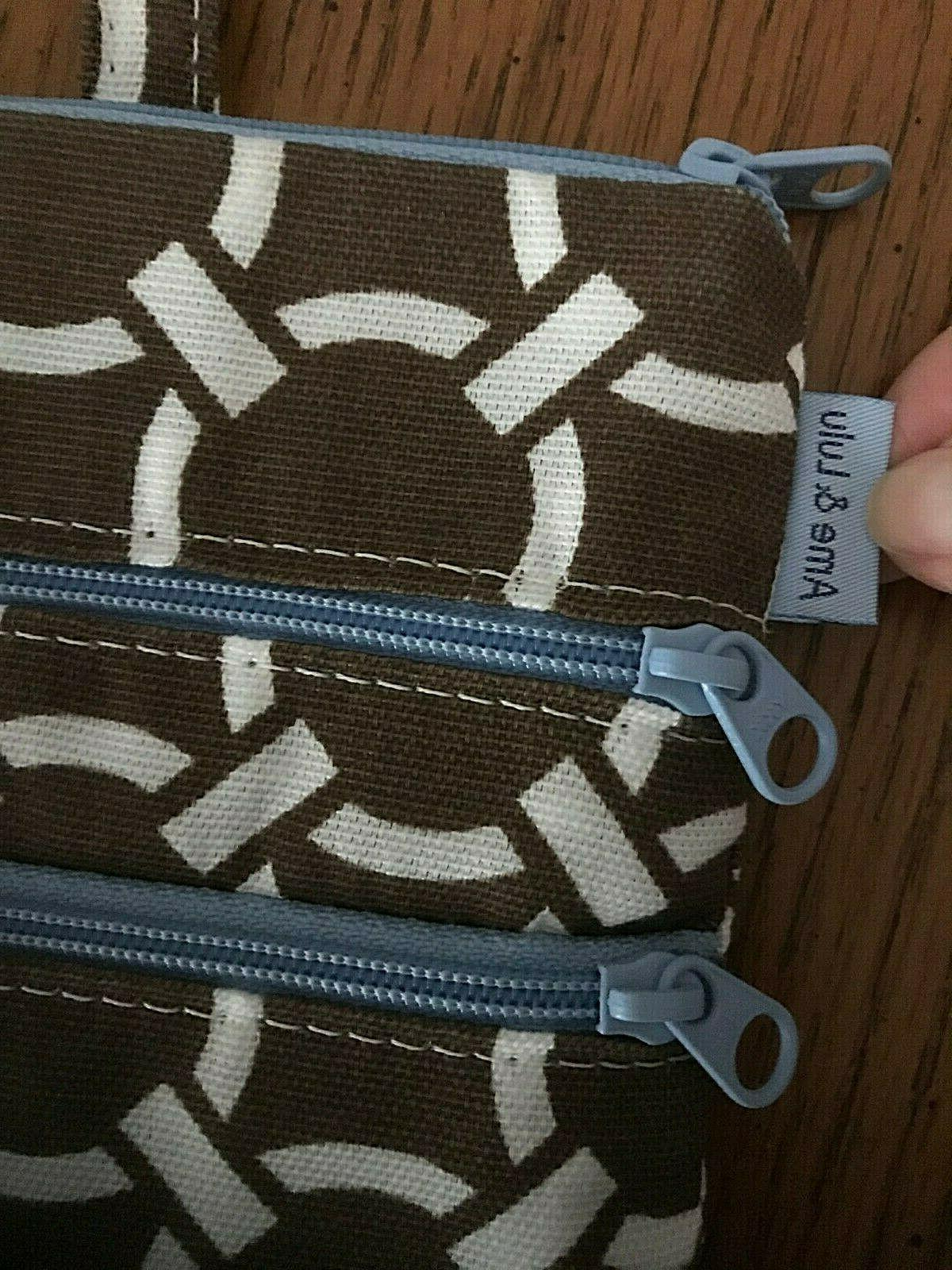 Ame 3 zip all pouch golf accessory clip onto $28
