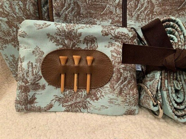 Ame & Brown Golf Accessories bag
