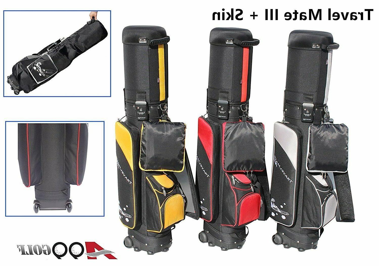 A99Golf Travel Mate golf bag wheel airline TSA Lock+Protecti