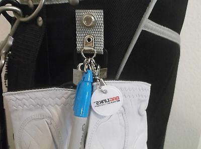 BAGLINKS™ Golf Bag Accessory - Utilizes Golf Bag's Hood Snaps