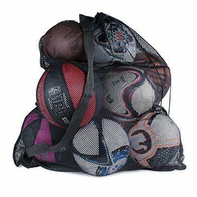 ball bag drawstring mesh