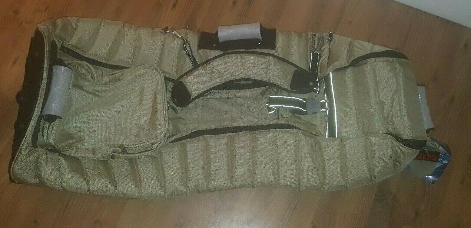 Samsonite Deluxe Wheeling Golf Bag Brand