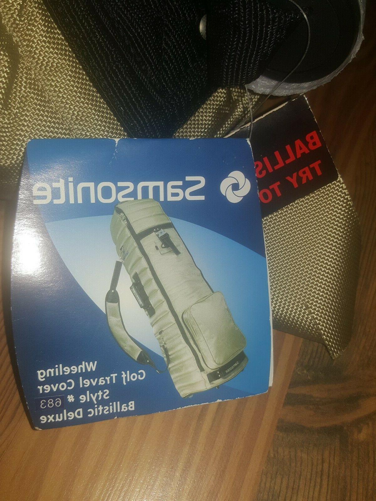 Samsonite Ballistic Golf Bag 683 Brand
