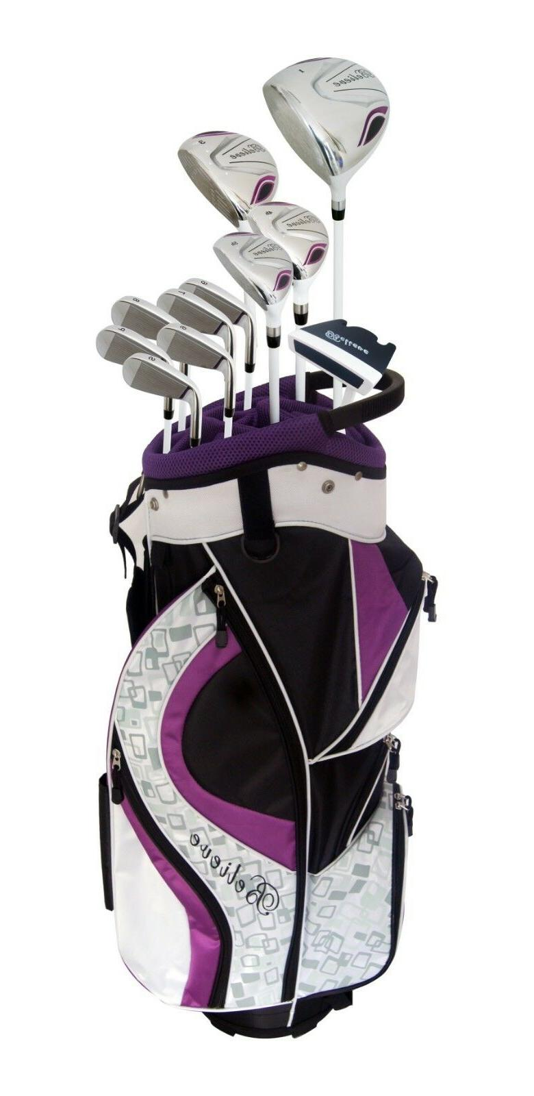Founders Club Womens Golf Club Set with Head Covers