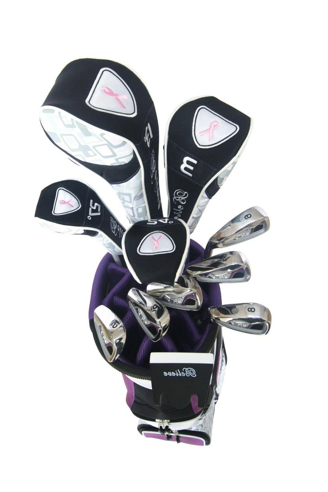 Founders Womens Complete Club Set with Bag,