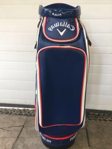 Callaway Big Staff Bag, used.