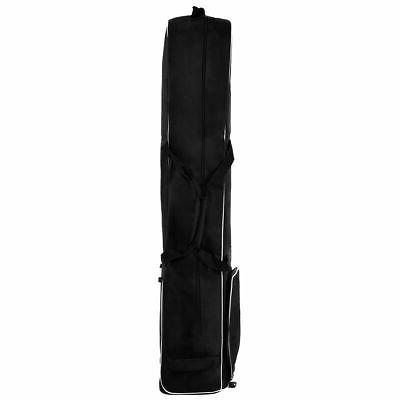 Black Foldable Travel Cover with Wheel Lightweight Oxford