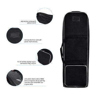 Black Foldable Bag Travel Lightweight Oxford