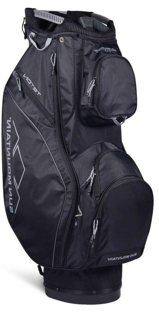 black teton golf bag cart bag