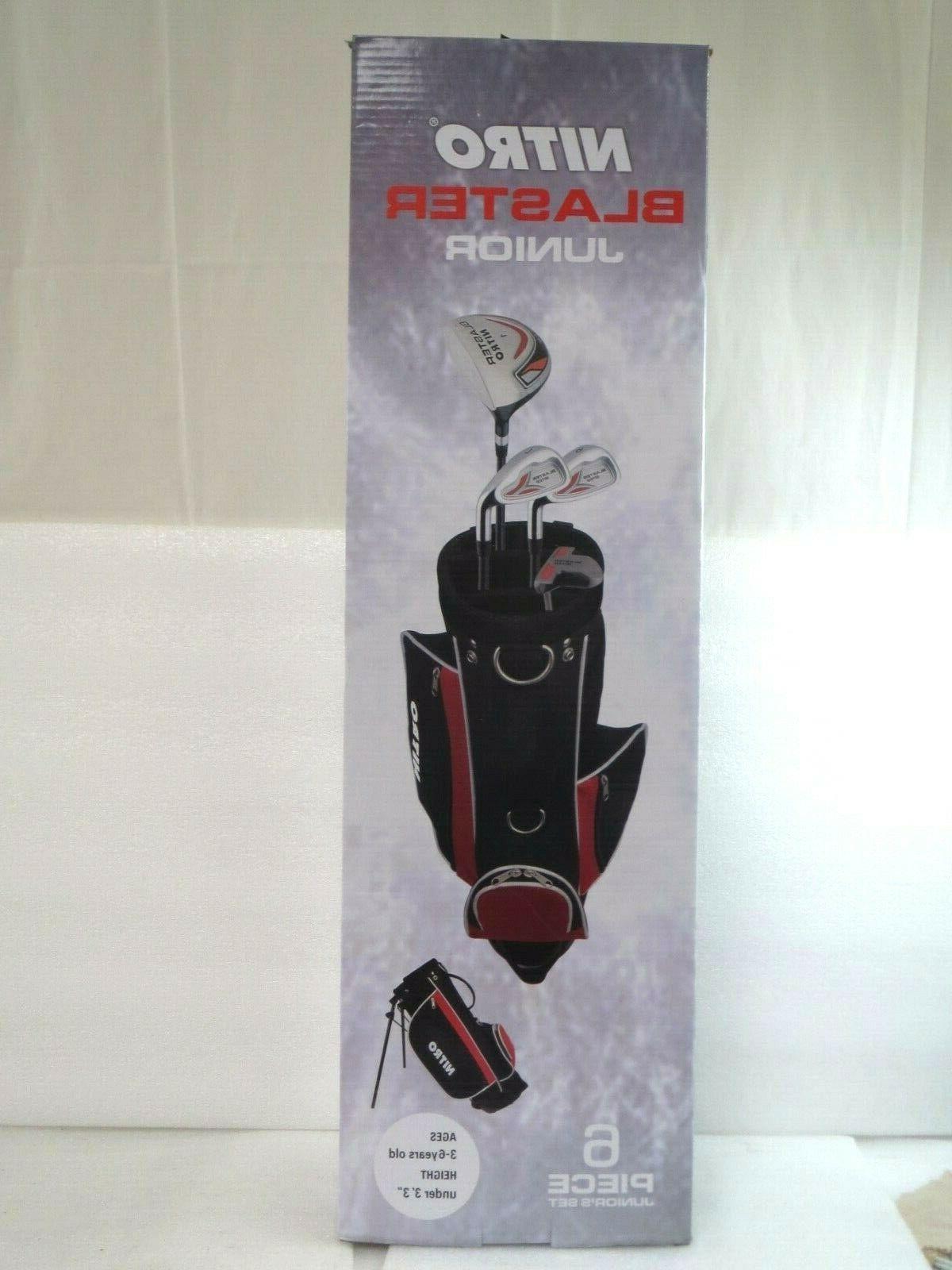 blaster six piece junior youth golf set