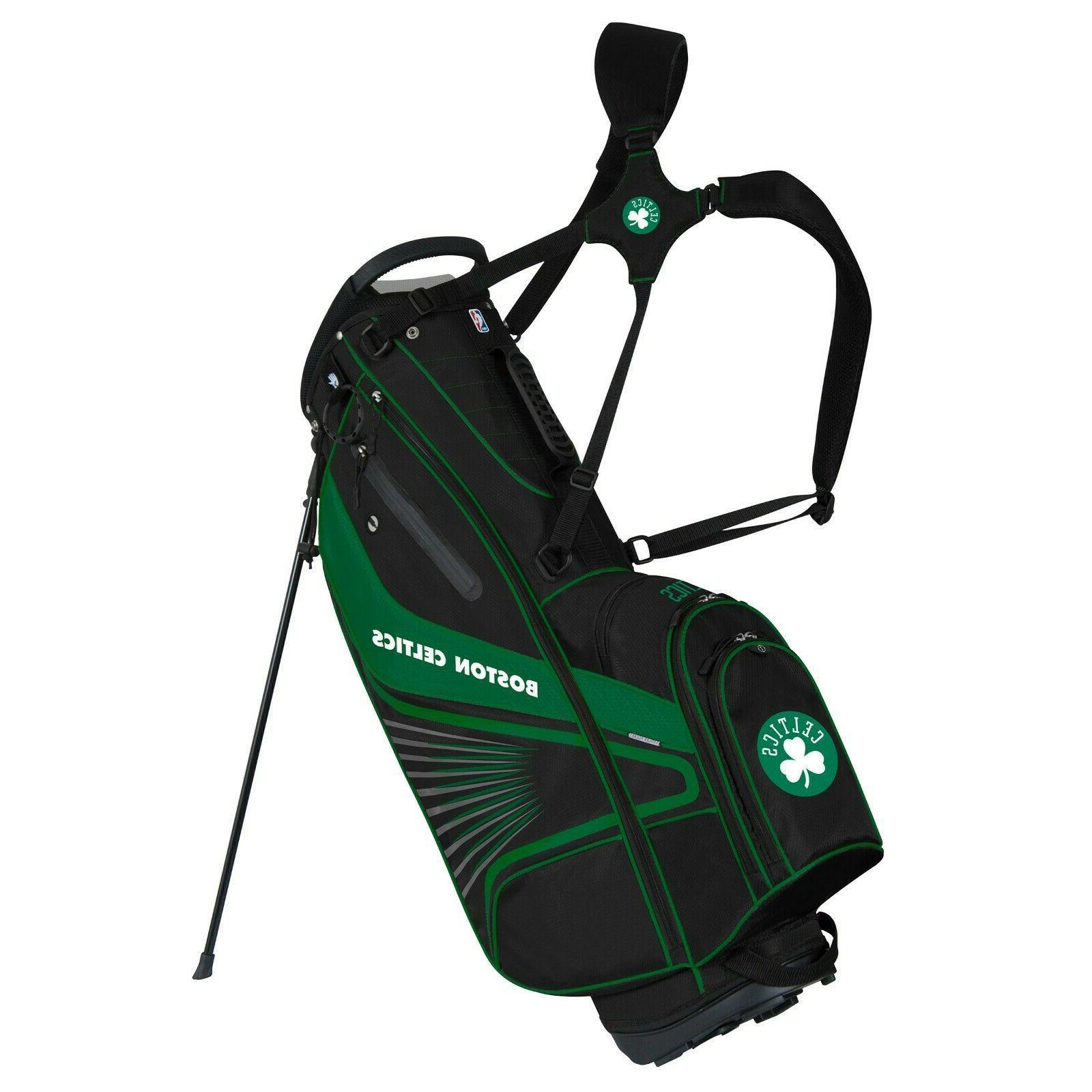 "Boston Celtics ""Grid Iron III"" Stand Golf Bag"