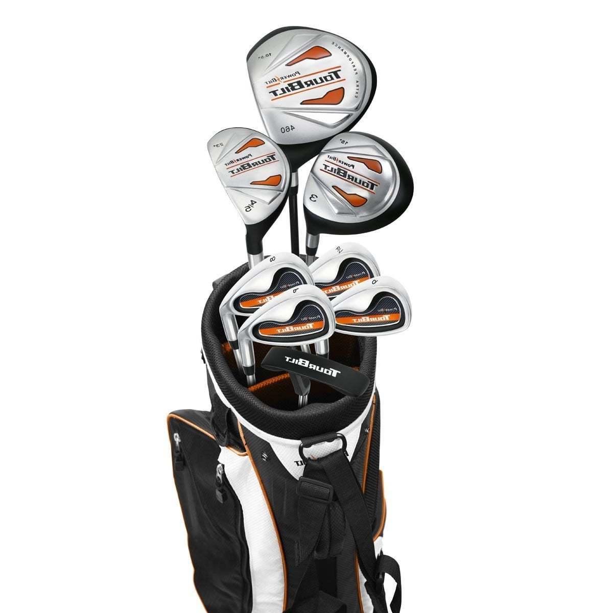 ANY SIZE BOY'S LEFT Hand TOURBILT Complete Golf Set wBag+Dr+