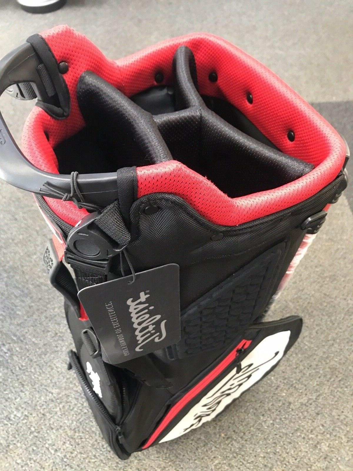 ***BRAND Titleist Players 4 Bag Black/White/Red