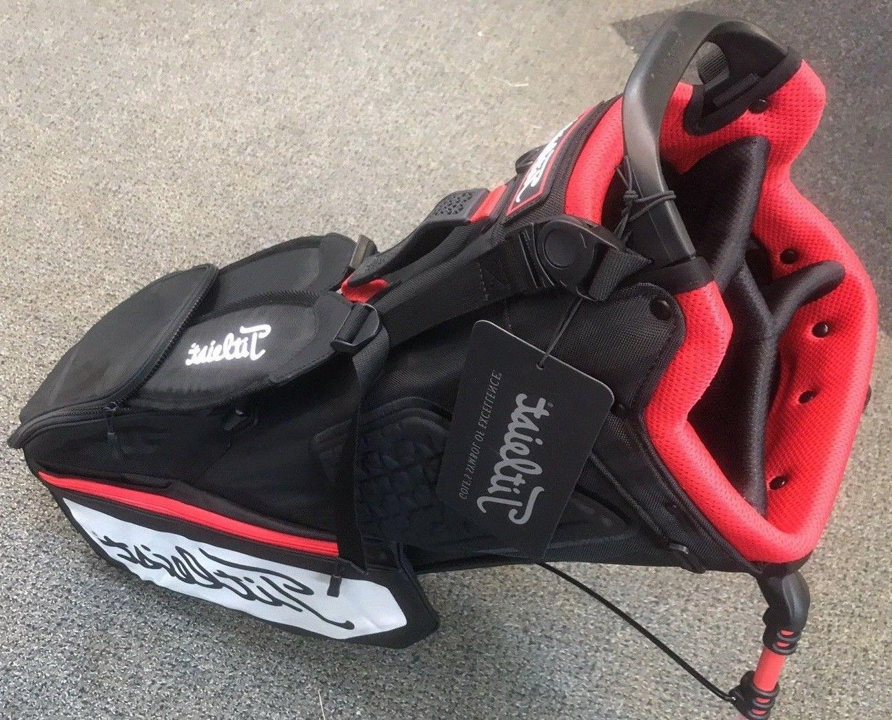 ***BRAND NEW*** Players 4 Bag - Black/White/Red