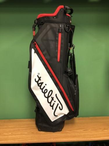 ***BRAND NEW*** Titleist Players 4 Golf Stand Bag - Black/Wh