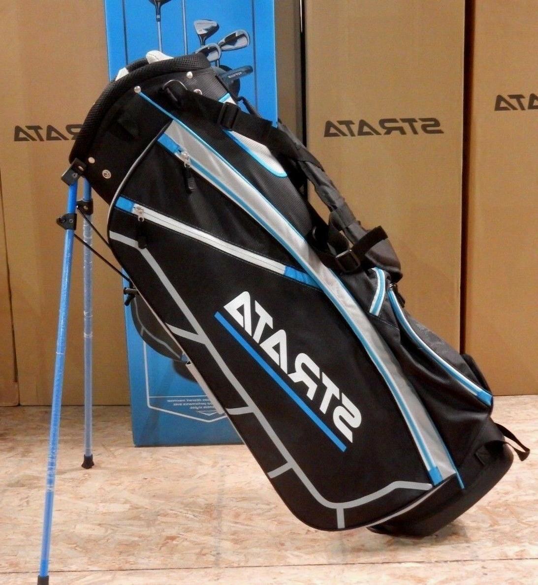 Strata Callaway Carry Stand Golf Bag 7-Way Divider + Hood #65209