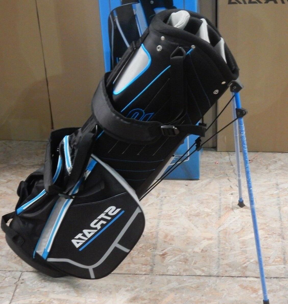 Strata Carry Golf Bag 7-Way Divider + Hood