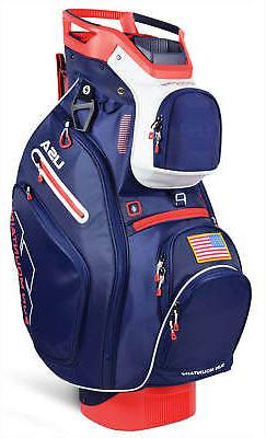 Sun Mountain C-130 Cart Bag 14 Ind. Full Dividers 2019 Navy/