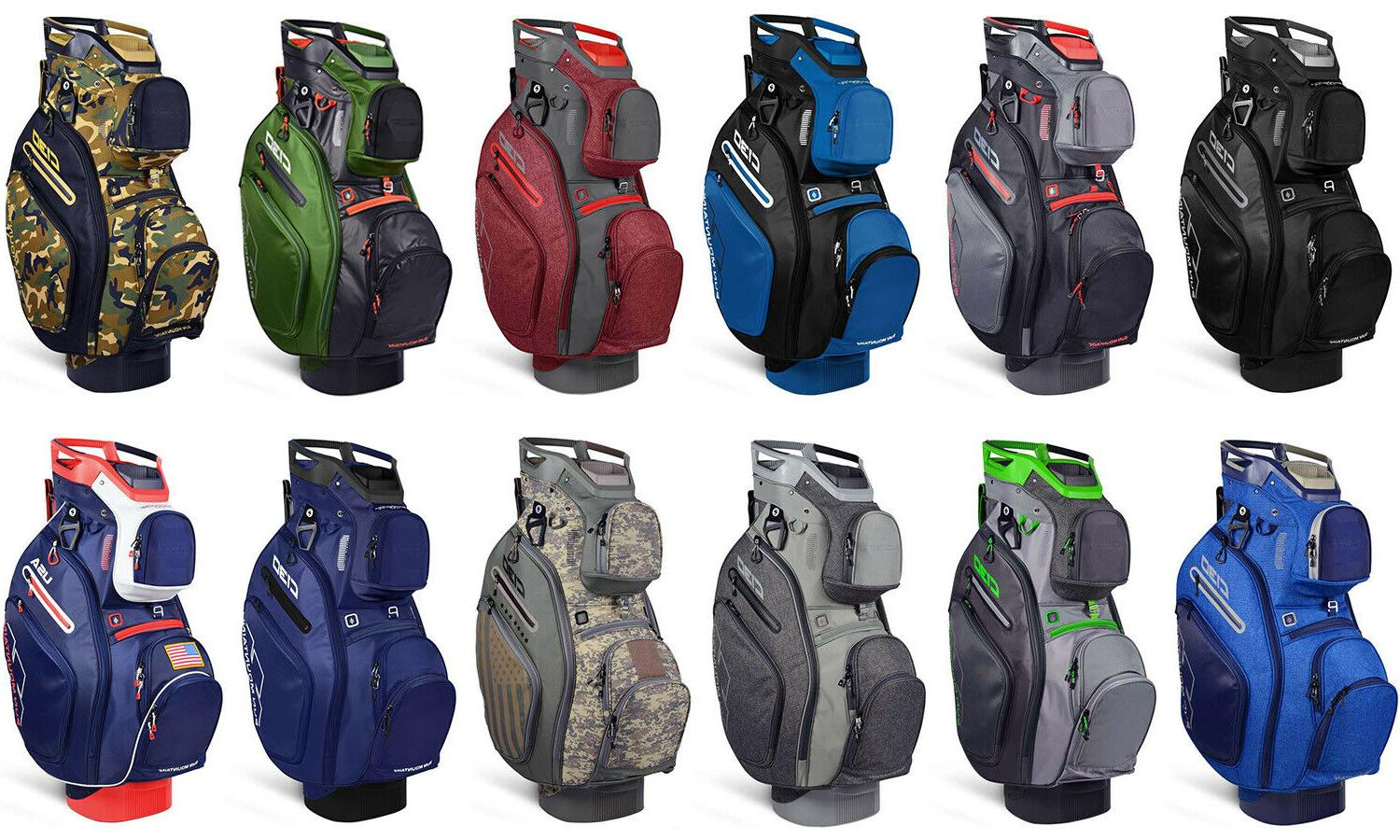 c 130 men s golf cart bag