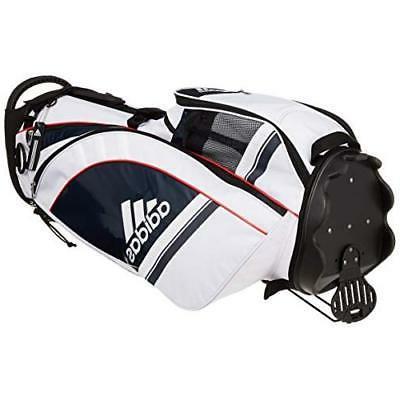 Adidas Golf AWU 47 inch White x Navy Japan new .