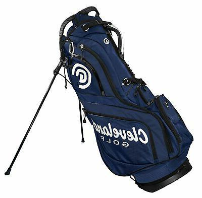 CLEVELAND CG STAND BAG MENS NEW NAVY/RED/WHITE