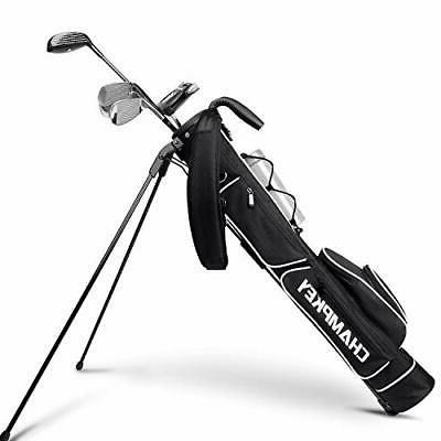 Champkey Lightweight Golf Stand Bag - Easy to Carry & Du