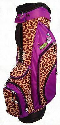 cheetah hybrid cart golf bag