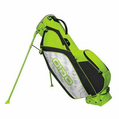 Ogio Cirrus MB Stand Golf Bag 2018 - Bolt Green
