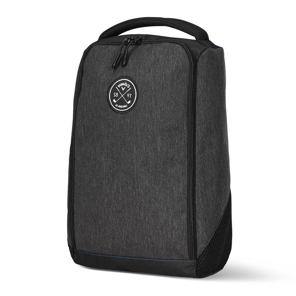 clubhouse golf shoe bag gray finish