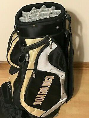 Buffaloes 14 Divider Golf Bag