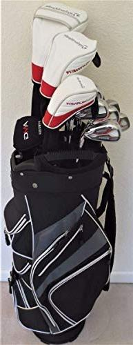 TaylorMade Mens Complete Golf Set - Driver, Fairway Wood, Hy