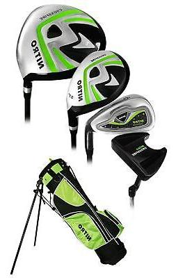 Nitro Golf Junior Crossfire 8 Piece Complete Set With Bag