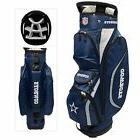 BRAND NEW Team Golf Dallas Cowboys Clubhouse Cart Bag Navy/G