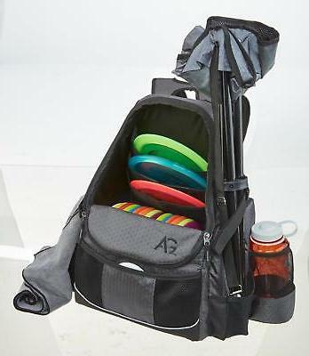 Disc Deluxe Backpack Gray Holds NEW