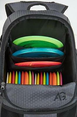 Disc Deluxe Frisbee Backpack Holds NEW